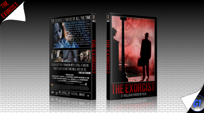 The Exorcist box art cover