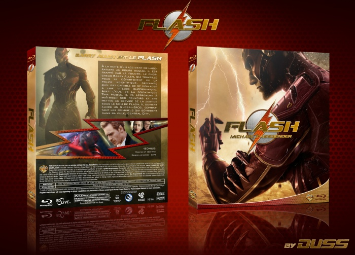 Flash the movie Movies Box Art Cover by Duss