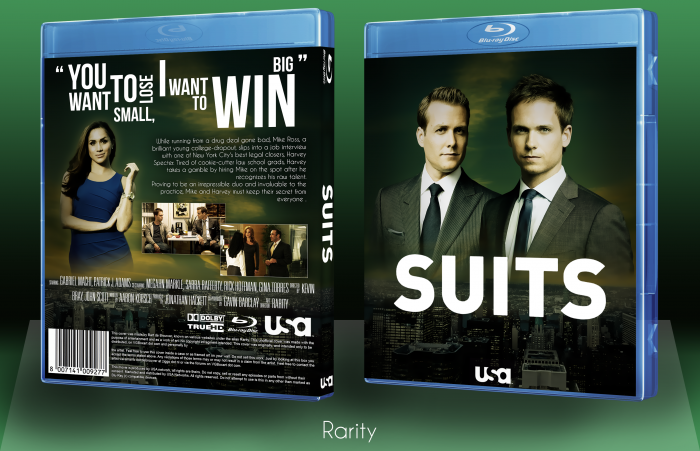 Suits box art cover