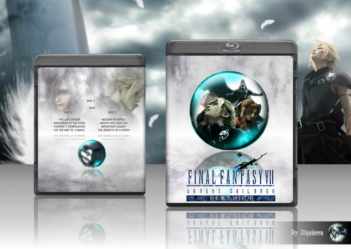 Final Fantasy Vii Advent Children Complete Movies Box Art Cover By