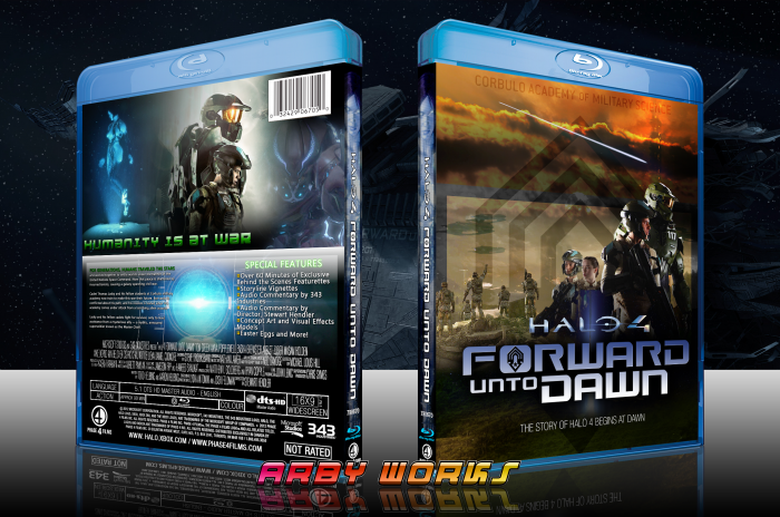 Halo 4: FORWARD UNTO DAWN box art cover