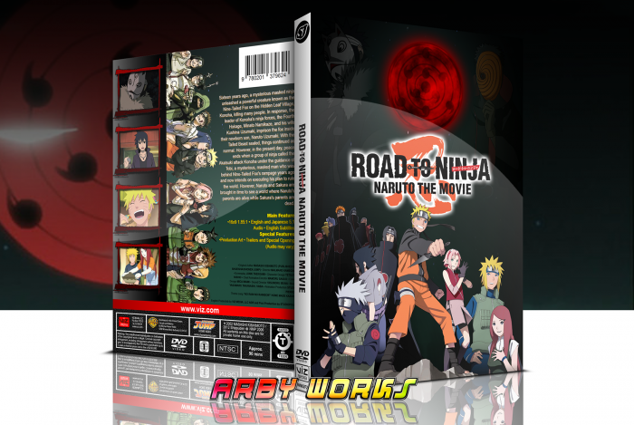 Road to Ninja: NARUTO THE MOVIE box art cover