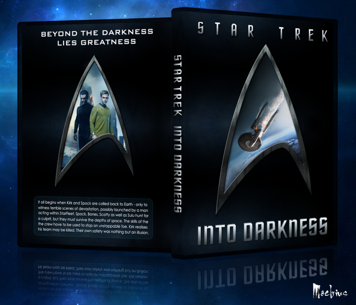 Star Trek Into Darkness box art cover