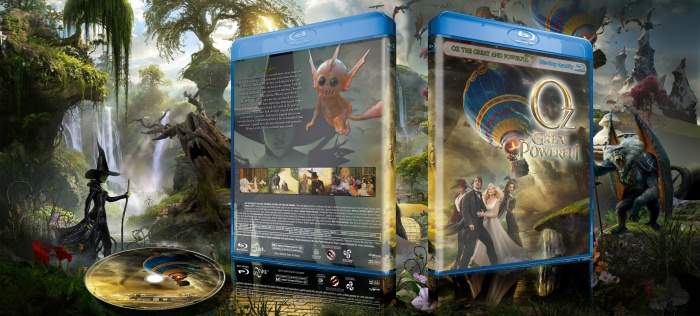 Oz the Great and Powerful 2013 box art cover