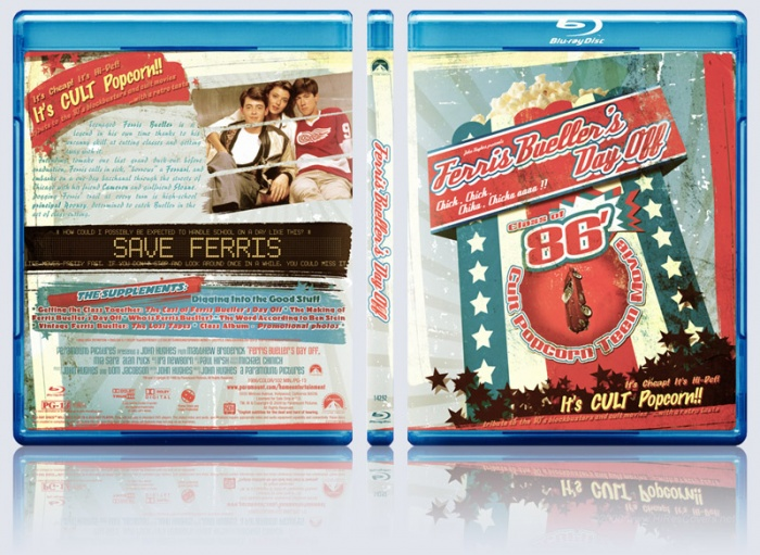 ferris bueller's day off box art cover