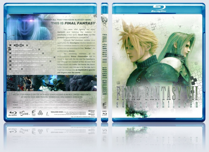 Final Fantasy Advent Children box art cover