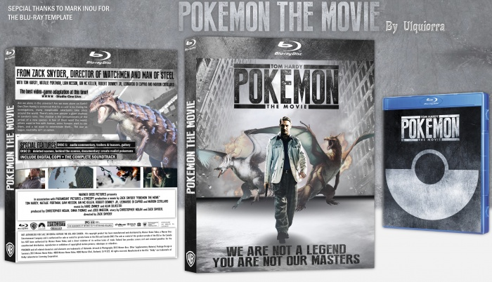 Pokemon: The Movie box art cover