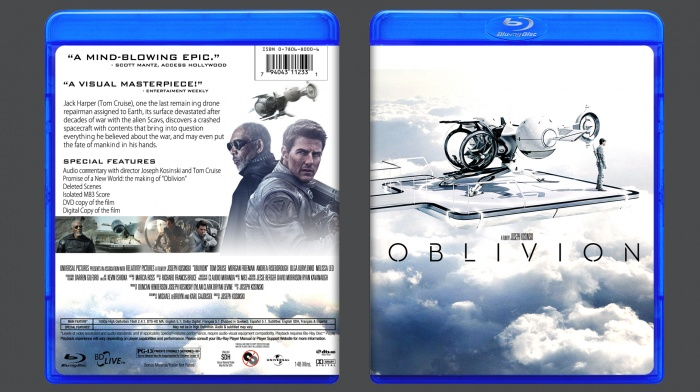 Oblivion Movie Cover Oblivion Box Art Cover