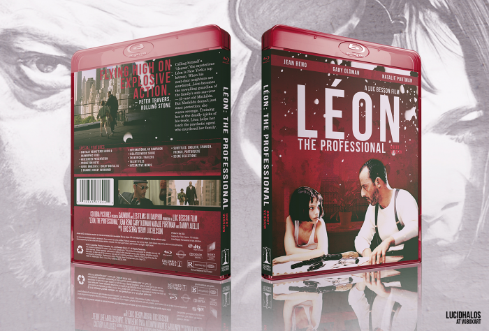 Léon: The Professional box art cover