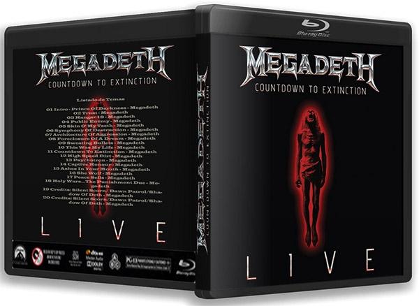 Megadeth Countdown to Extinction Live