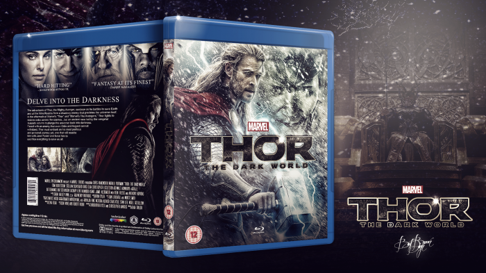 Thor: The Dark World box art cover