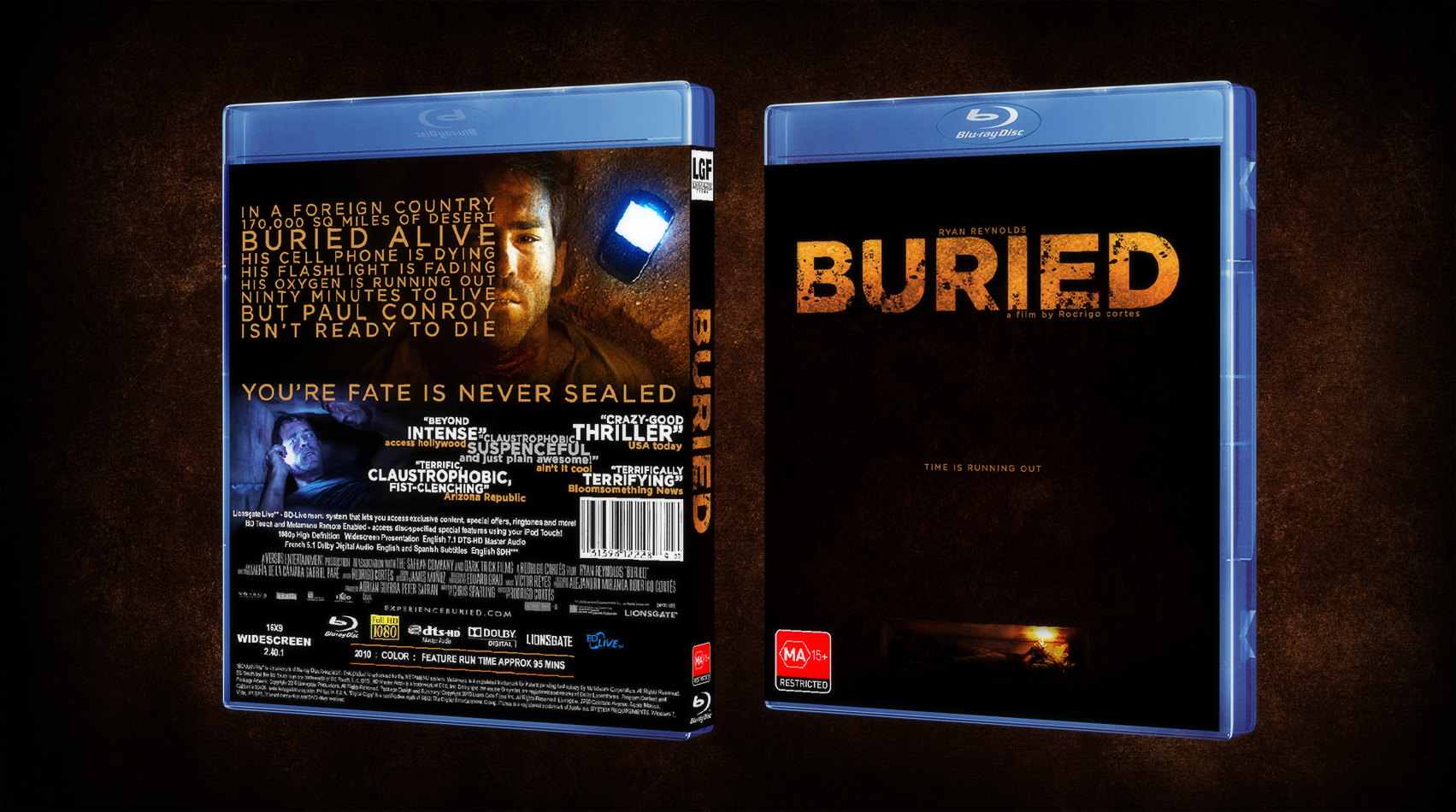 Buried box cover
