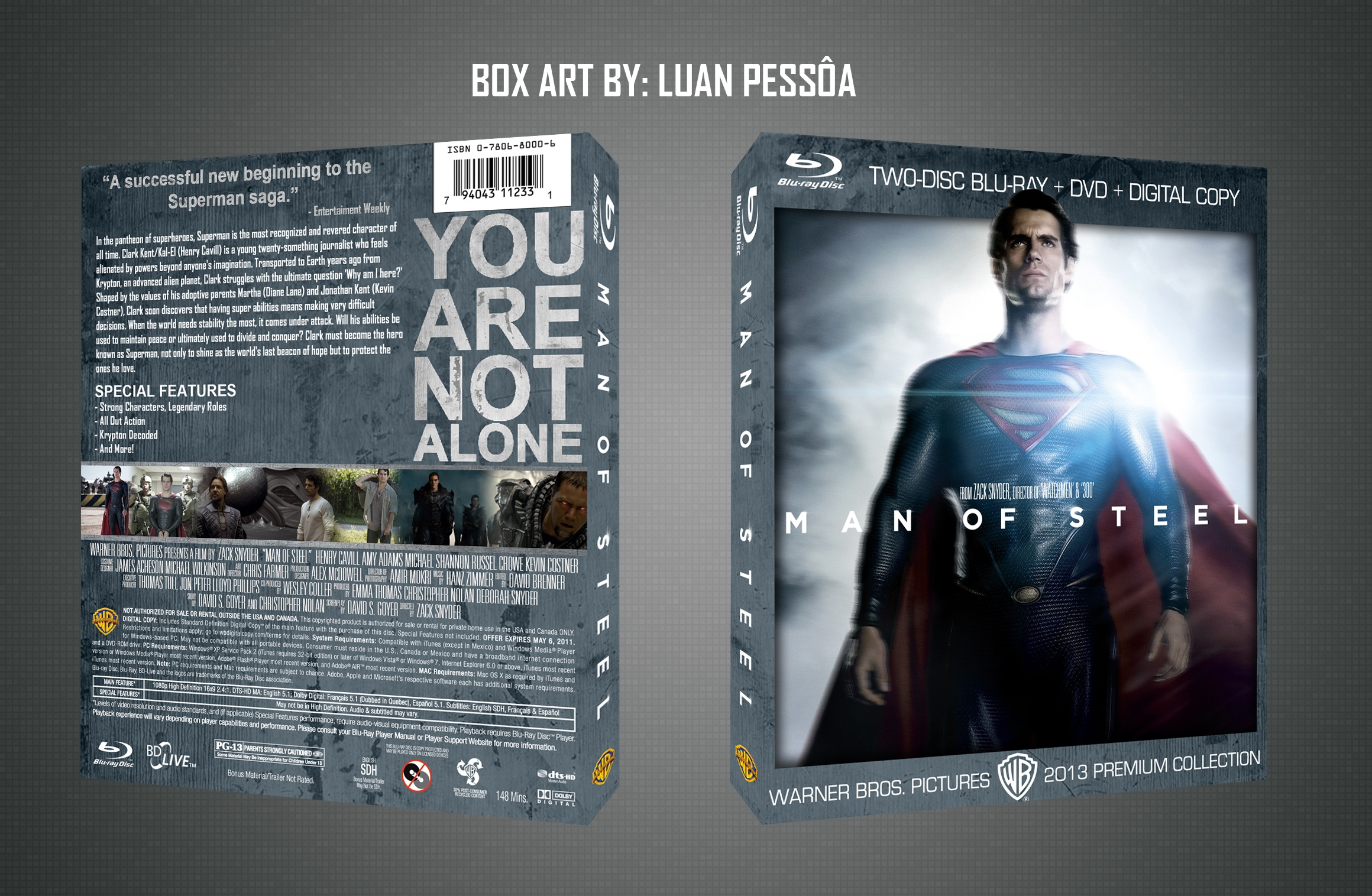 Man of Steel box cover