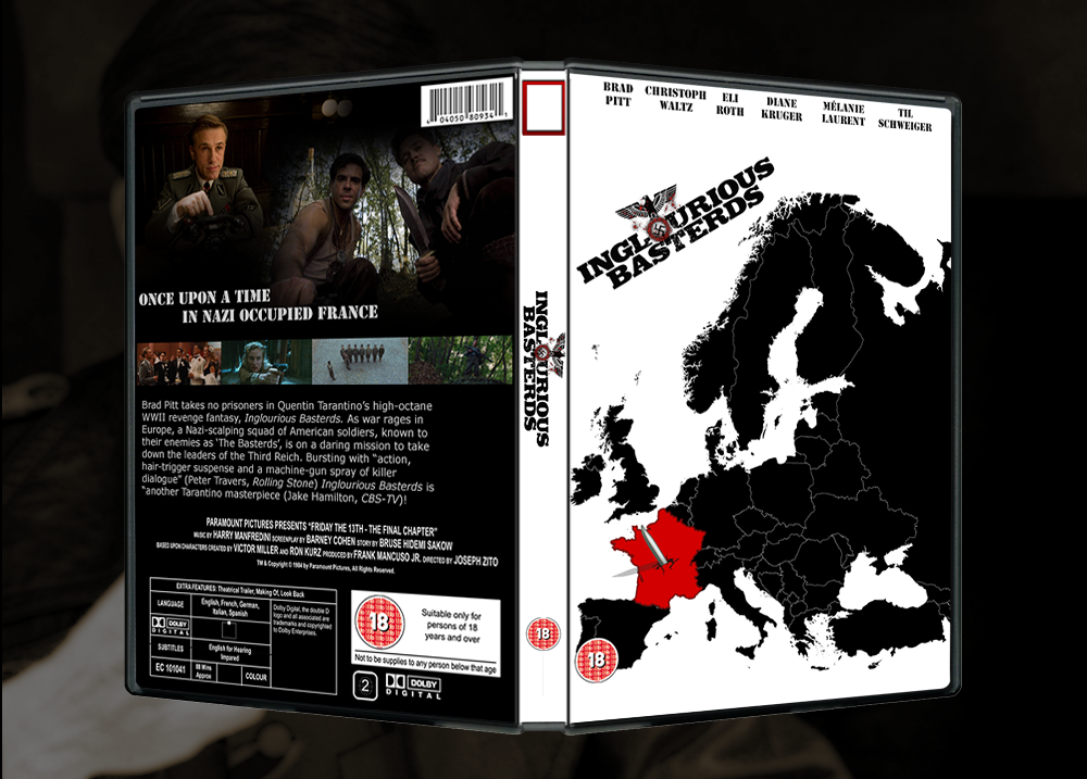 Inglourious Basterds box cover