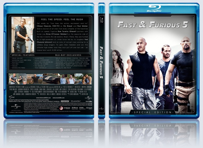 Fast Five box art cover
