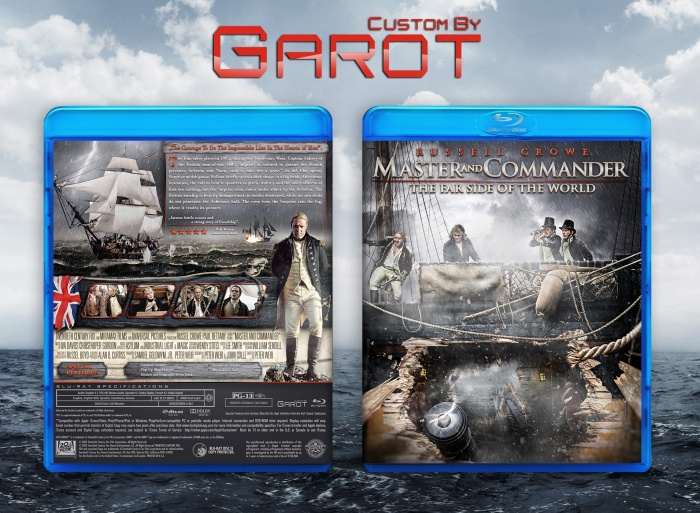 Master and Commander box art cover