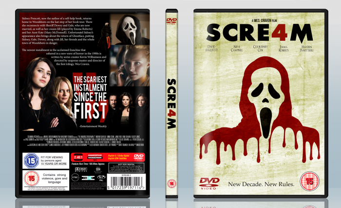 Scream 4 box art cover