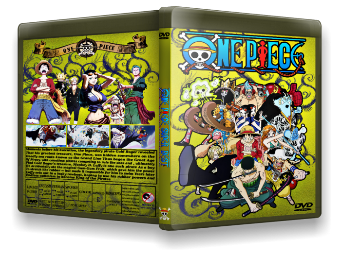 One Piece box art cover