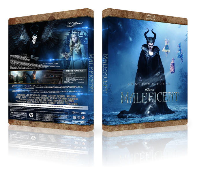 Maleficent box art cover