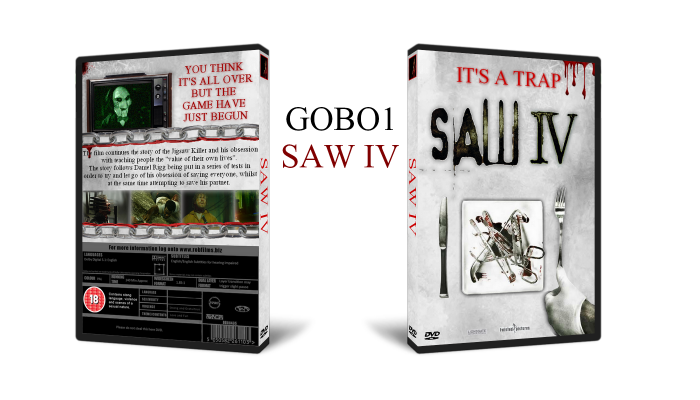 Saw IV box art cover
