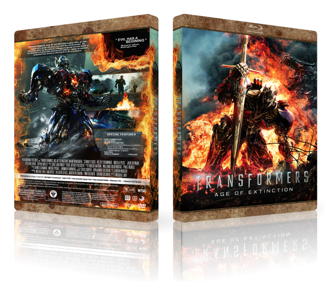 Transformers Age of Extinction box art cover