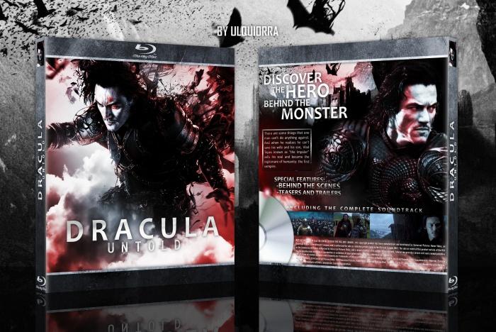 Dracula Art Dracula Untold Box Art Cover
