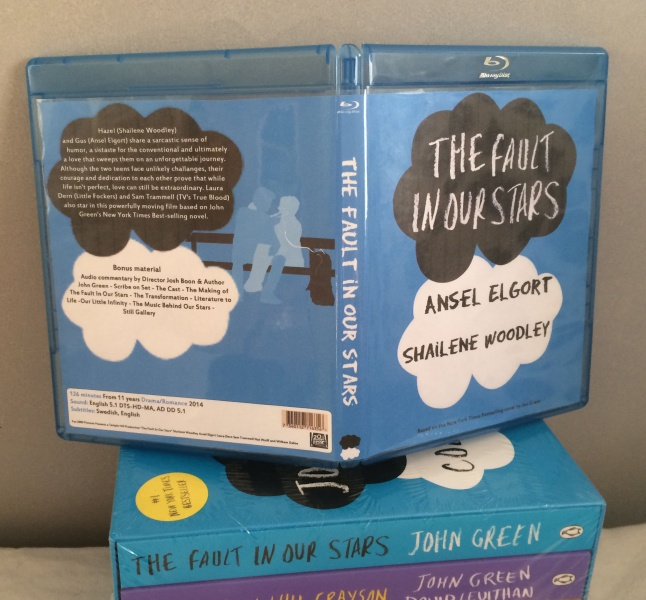 The fault in our stars box art cover
