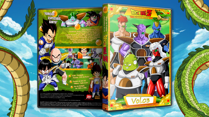 Dragon Ball Z (Anime) - Cover 3 box art cover