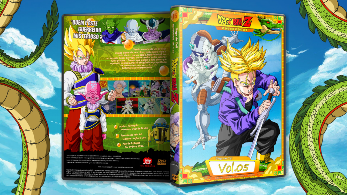 Dragon Ball Z (Anime) - Cover 5 box art cover