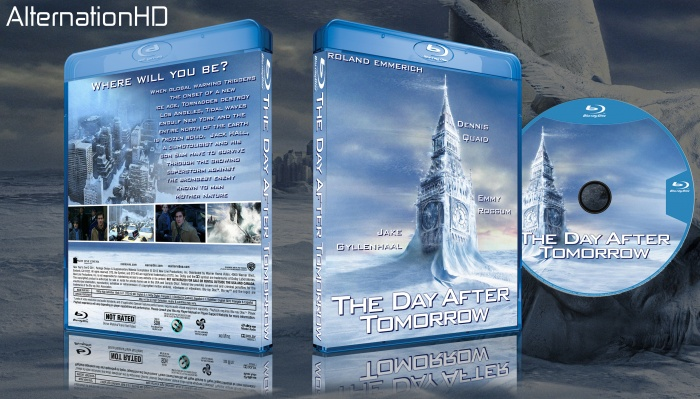 The Day After Tomorrow box art cover