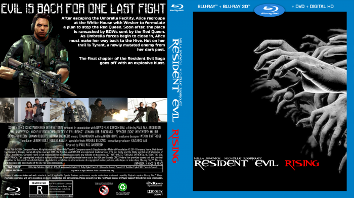 Resident Evil: Rising box art cover