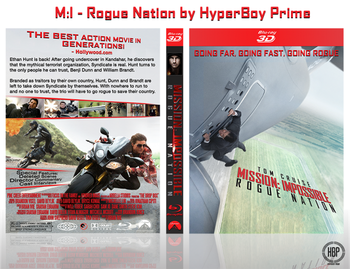 Mission: Impossible - Rogue Nation box art cover