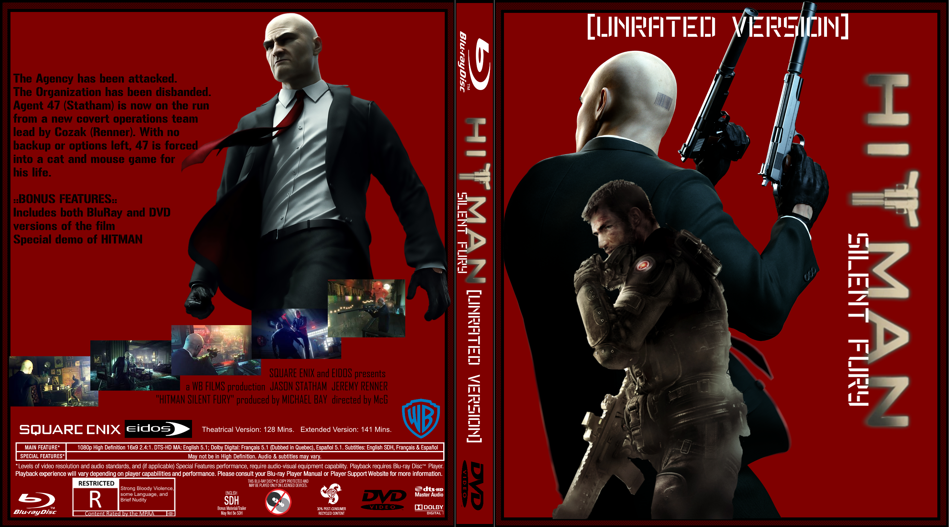 Hitman: Silent Fury box cover