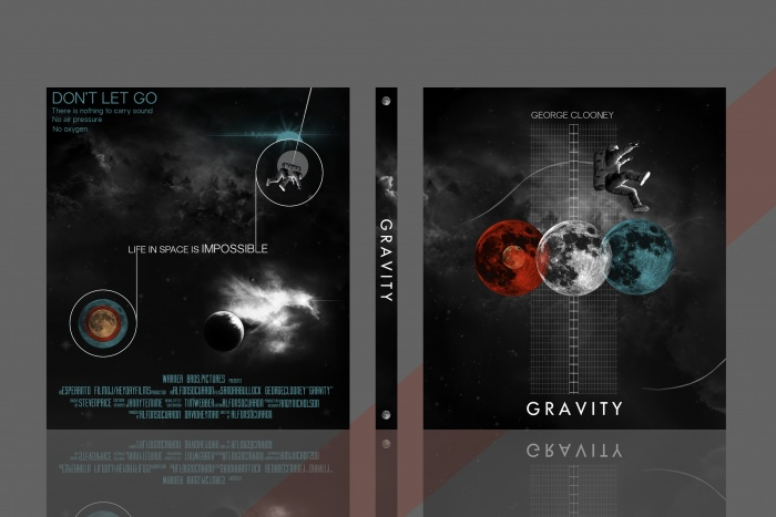 Gravity box art cover