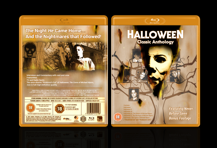 Halloween: Classic Anthology box art cover