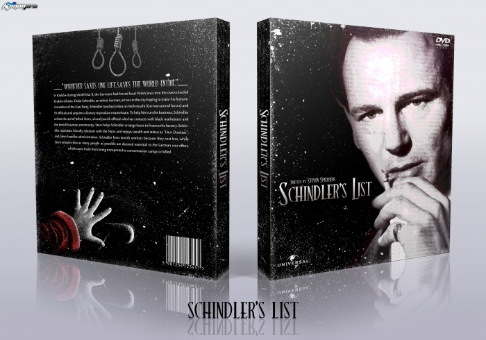 Schindler's List box art cover