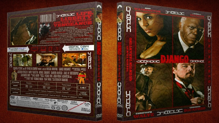 Django Unchained (v3) box art cover