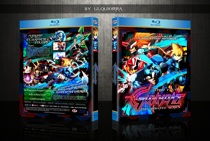 Azure Striker Gunvolt The Animated Series box art cover