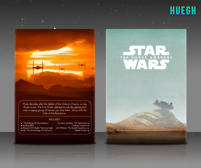 Star Wars: The Force Awakens box art cover