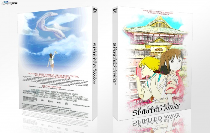 Spirited Away box art cover