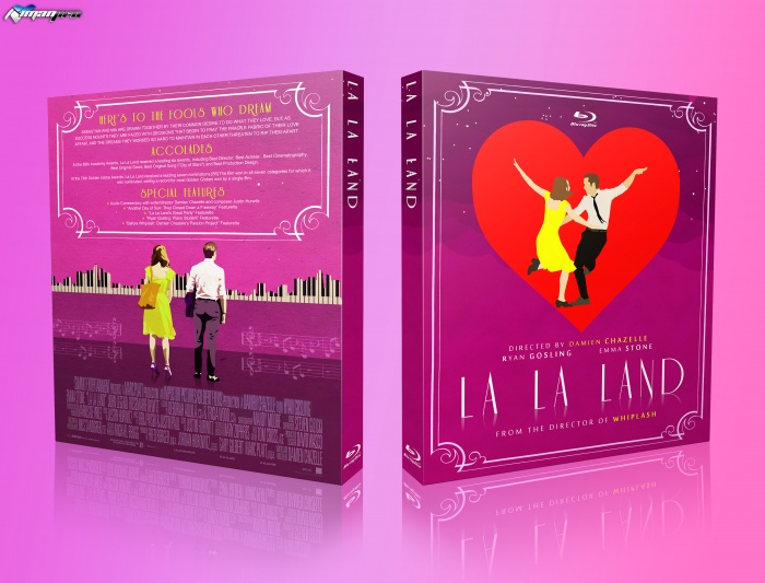 La La Land box art cover