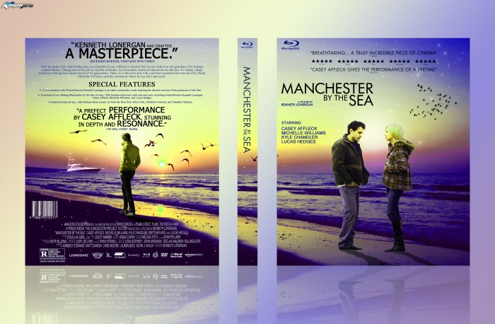 Manchester By The Sea box art cover