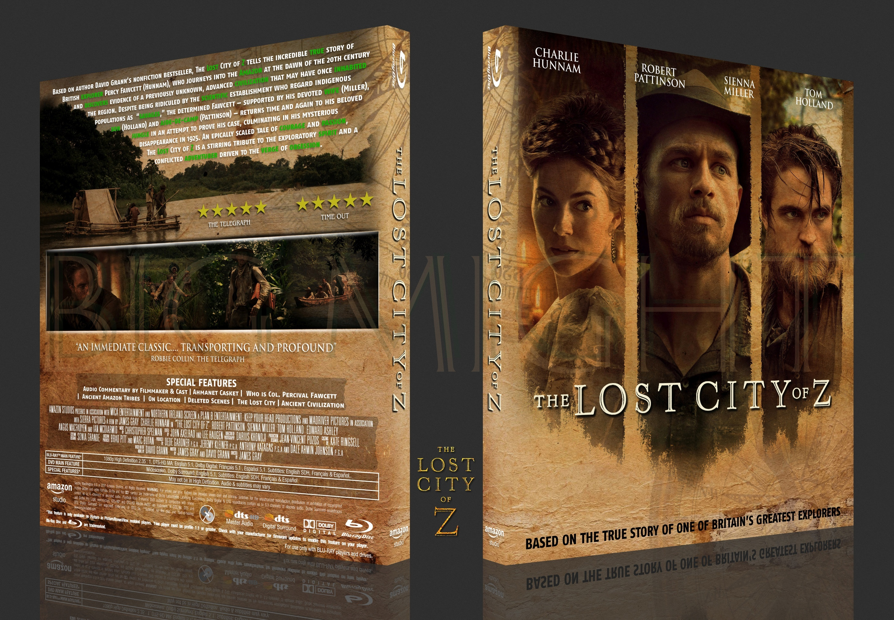 The Lost City of Z box cover