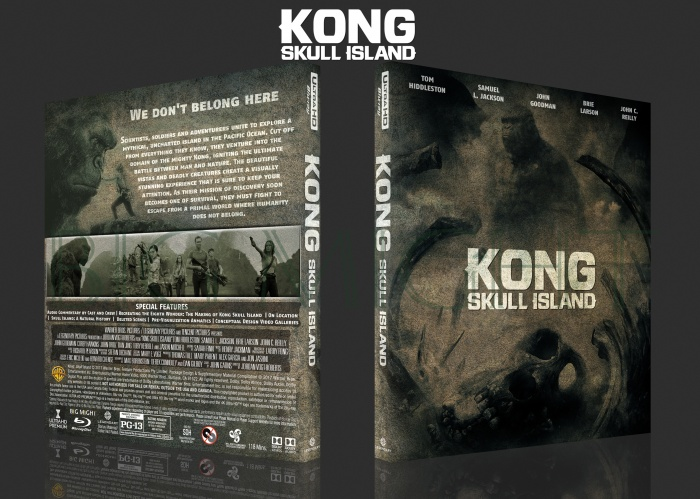 Kong Skull Island box art cover