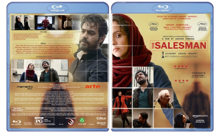 the Salesman box art cover