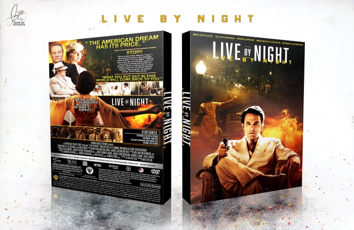 Live By Night box art cover