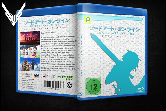 Sword Art Online extra edition box art cover
