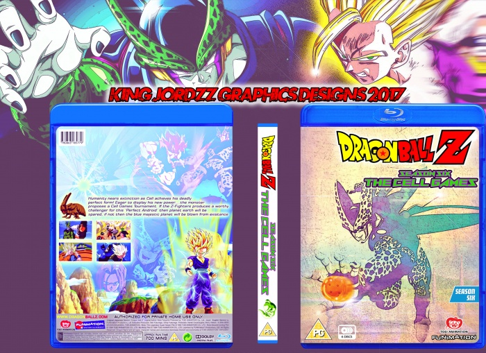 Dragonball Z - The Cell Games (season 6) box art cover