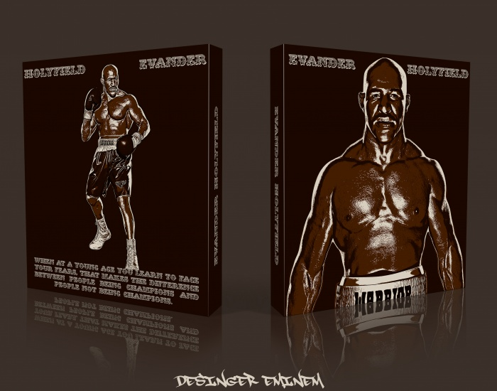 Evander Holyfield box art cover