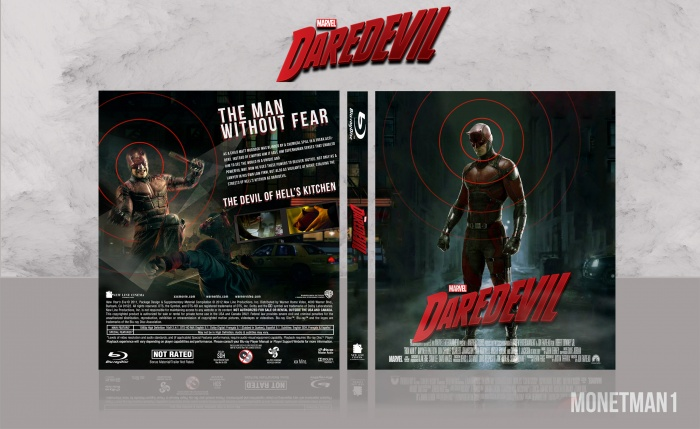 Daredevil box art cover